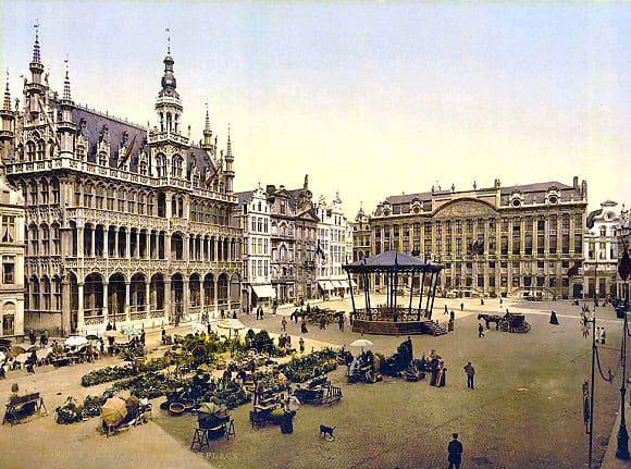 Le roy d 39 espagne historique - Office de tourisme bruxelles grand place ...